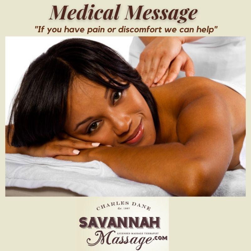 Medical Massage - Savannah Marketplace